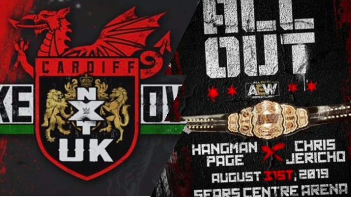 NXT UK TakeOver: Cardiff to run the same day as AEW's ALLOUT